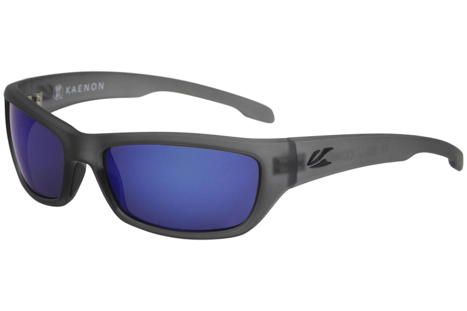 9aaf556a41 Kaenon Cowell Matte Carbon Grip Black Pacific Blue Mirror Polarized ...