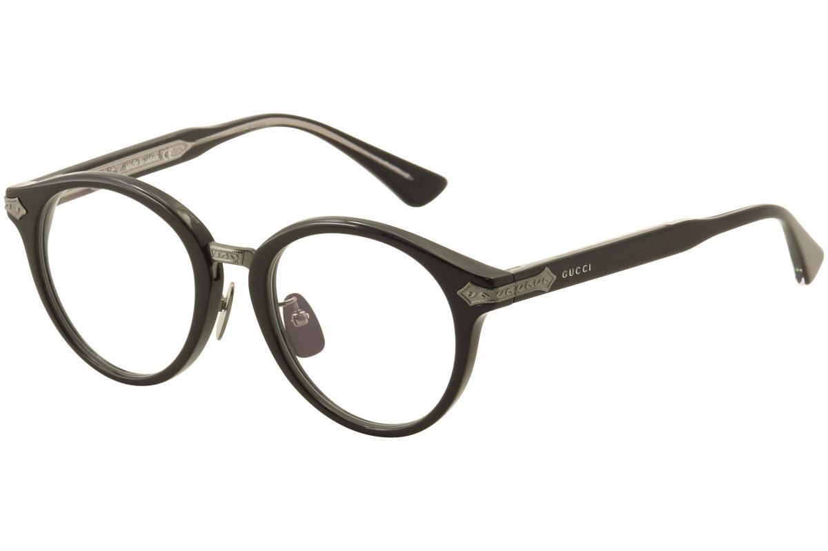 Gucci Men s Eyeglasses GG0066O GG 0066O 001 Black Full Rim Optical ... c12de027e5
