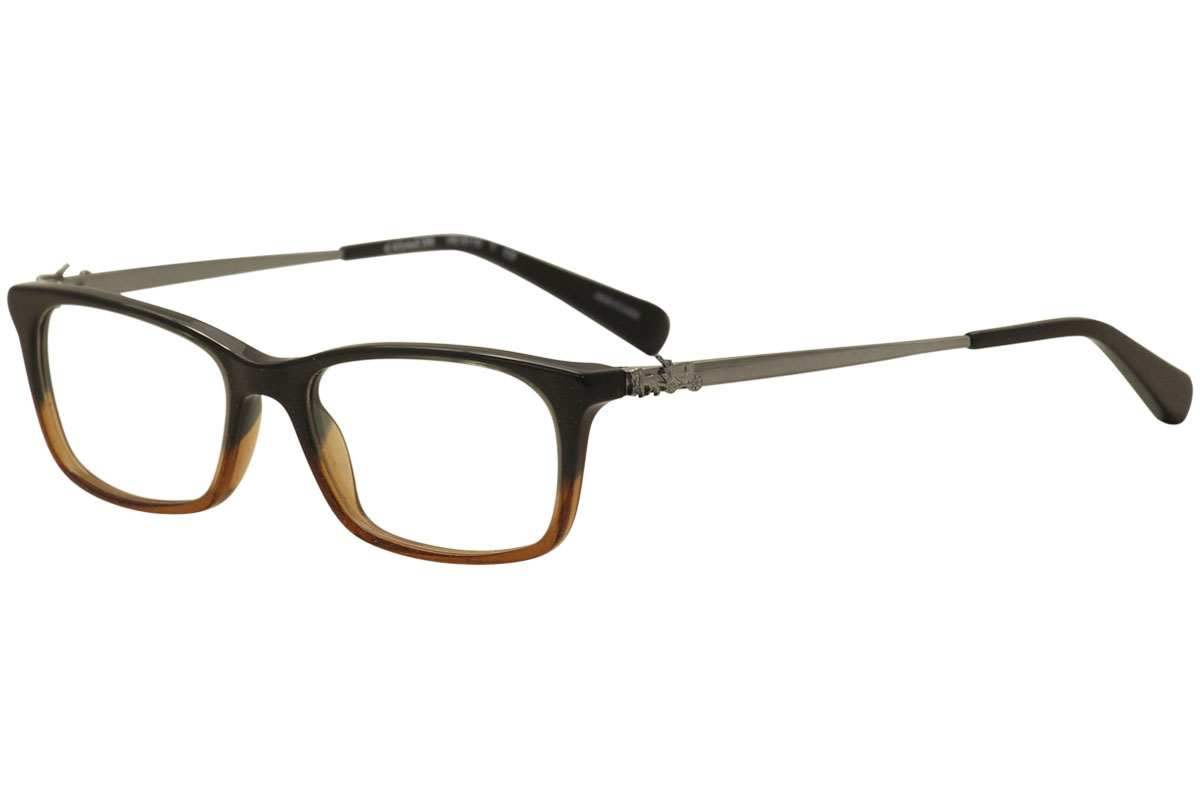 415327f5d7 Coach Women s Eyeglasses HC6110 HC 6110 5475 Black Amber Optical ...
