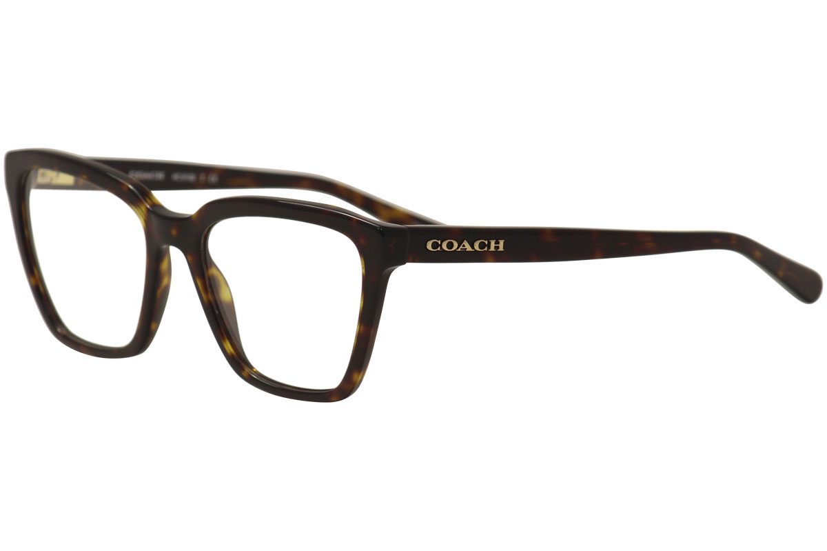 e98640d351fd Coach Women s Eyeglasses HC6109 HC 6109 5120 Dark Tortoise Optical ...