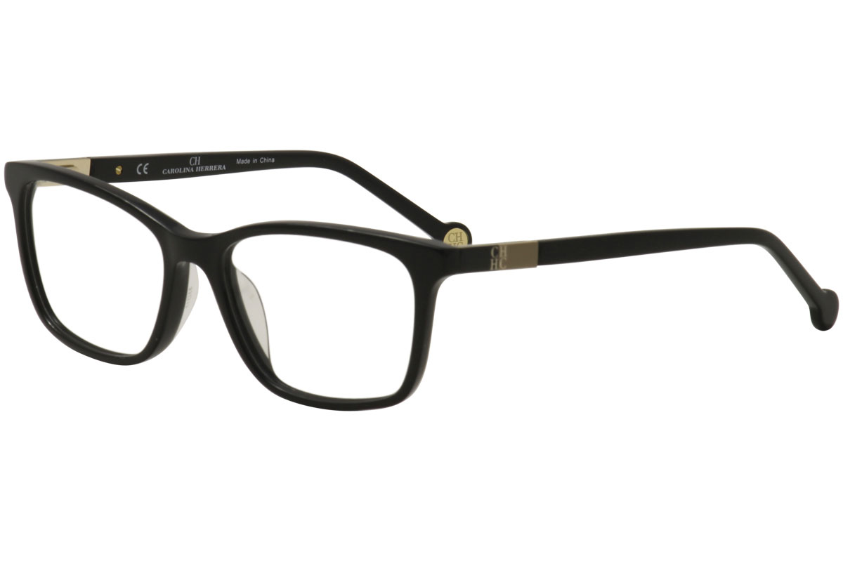 d4ac8b390ee CH Carolina Herrera Eyeglasses VHE673K VHE 673K 0700 Black Optical ...