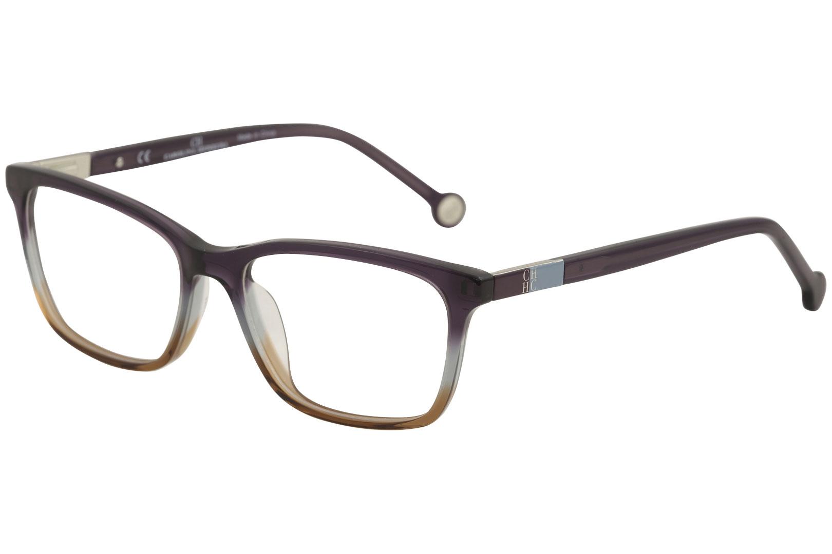 a90207eabca CH Carolina Herrera Eyeglasses VHE673K VHE 673K 0D78 Purple Optical ...