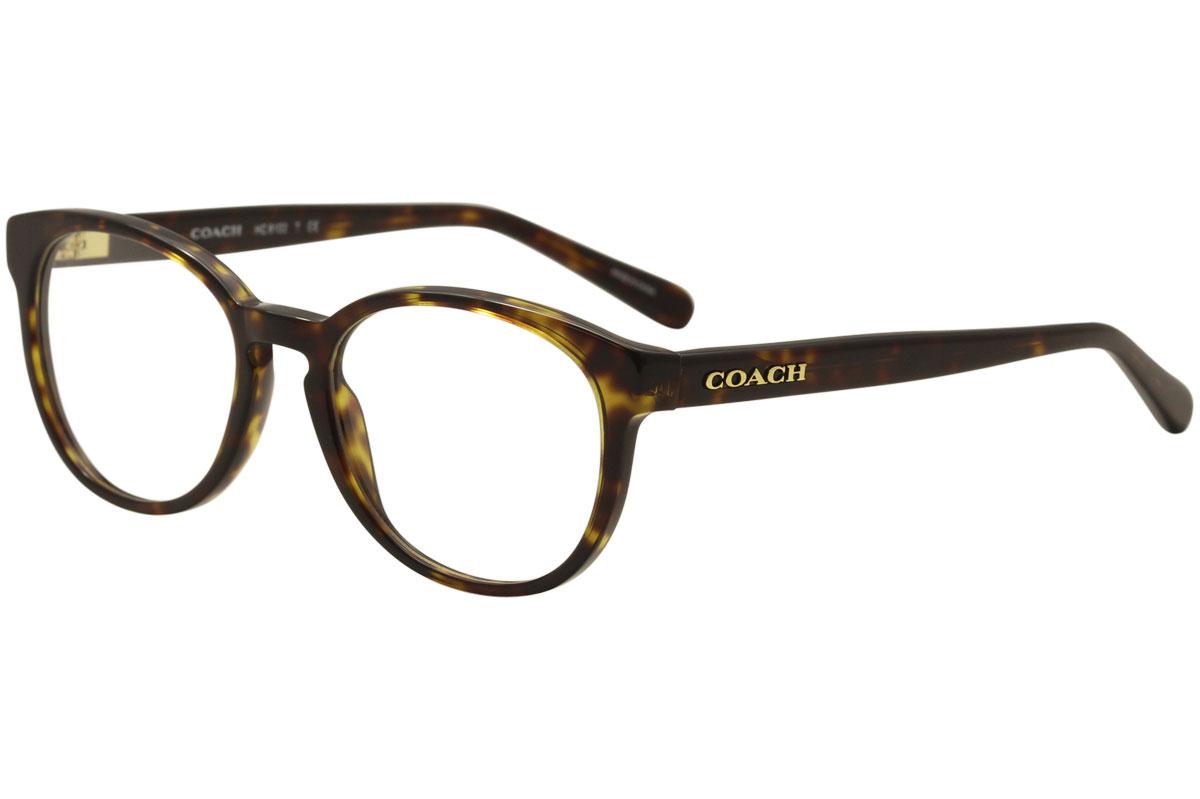 7044165eda Coach Women s Eyeglasses HC6102 HC 6102 5120 Dark Tortoise Optical ...