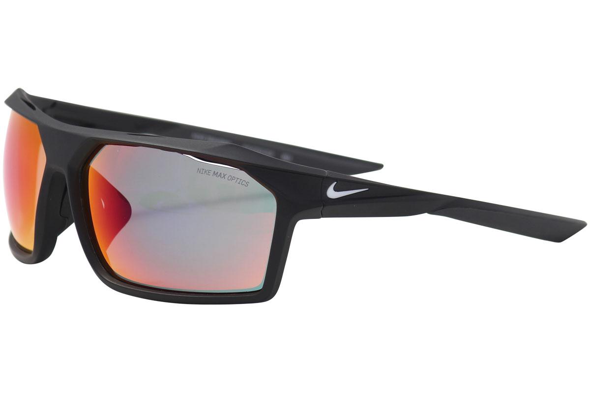 f38f34be81b Nike Traverse EV1033 EV 1033 Matte Black Grey - 016 Rectangular Sunglasses  65mm