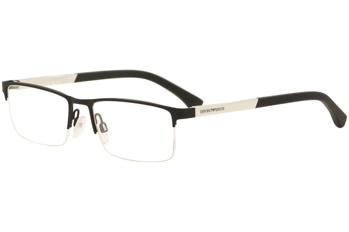 a887c46f6 Emporio Armani Eyeglasses EA1041 EA/1041 3094 Black Rubber Optical ...