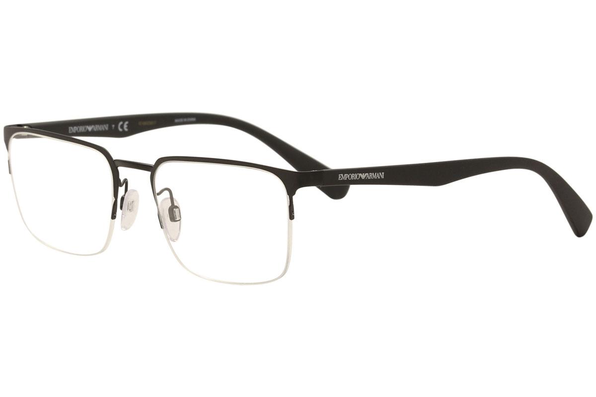 95b290554ff4d Emporio Armani Eyeglasses EA1062 EA 1062 3001 Matte Black Optical ...
