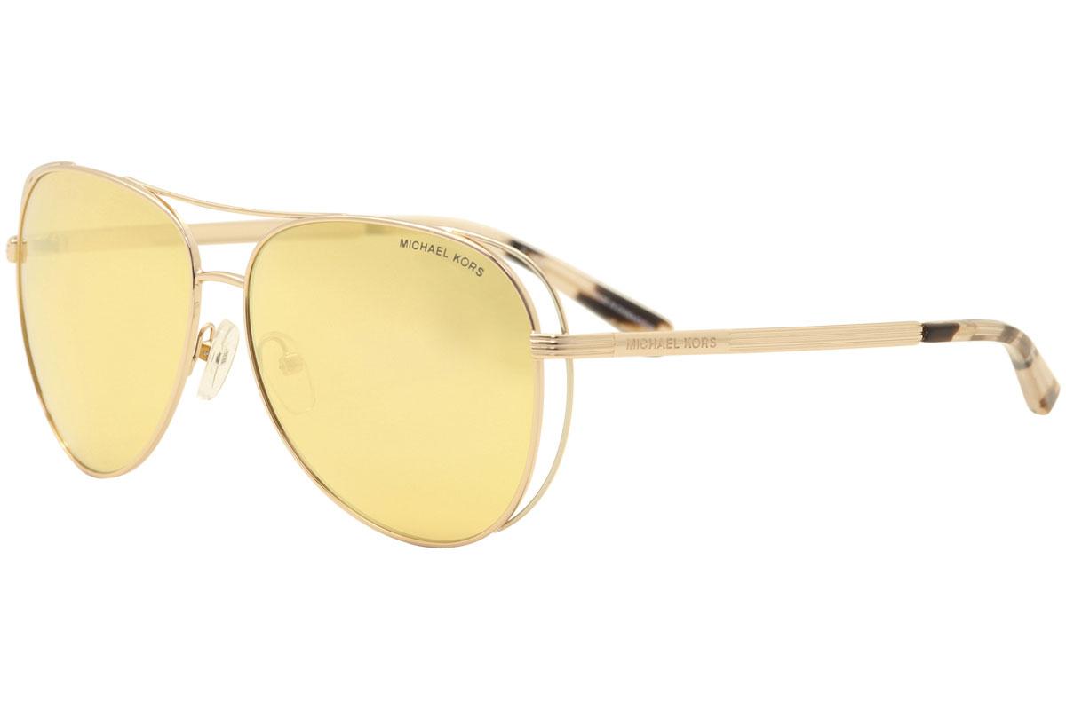 8989900ead53 Michael Kors Lai MK1024 MK 1024 11751J Rose Gold Silver Pilot ...