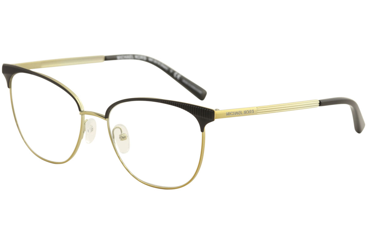 0bd1973ac13 Michael Kors Eyeglasses Nao MK3018 MK 3018 1195 Mt Black Gold ...
