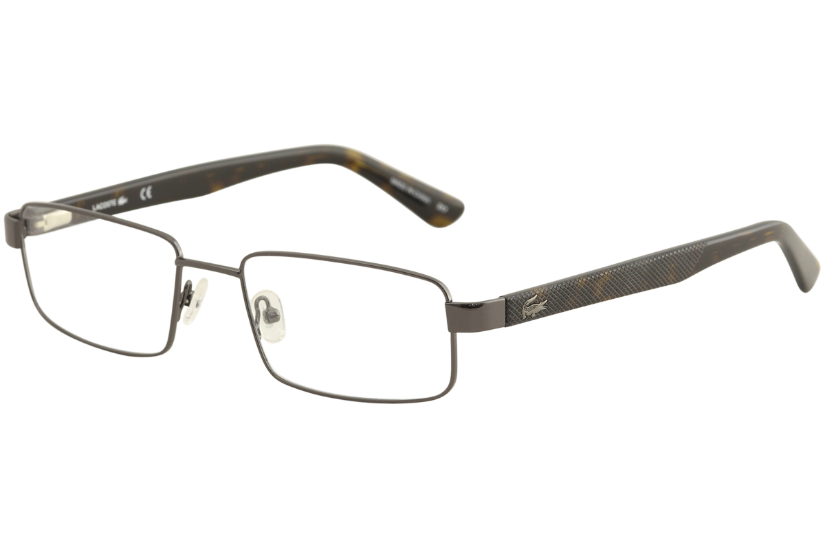 6ed51e66aed Lacoste Men s Eyeglasses L2238 L 2238 024 Dark Grey Full Rim Optical ...