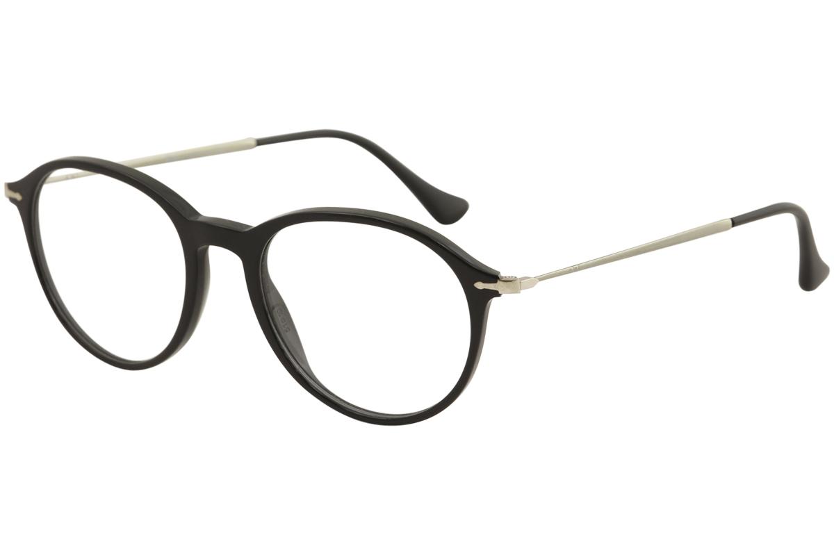Persol Men\'s Eyeglasses PO3125V PO/3125/V 95 Black Full Rim Optical ...