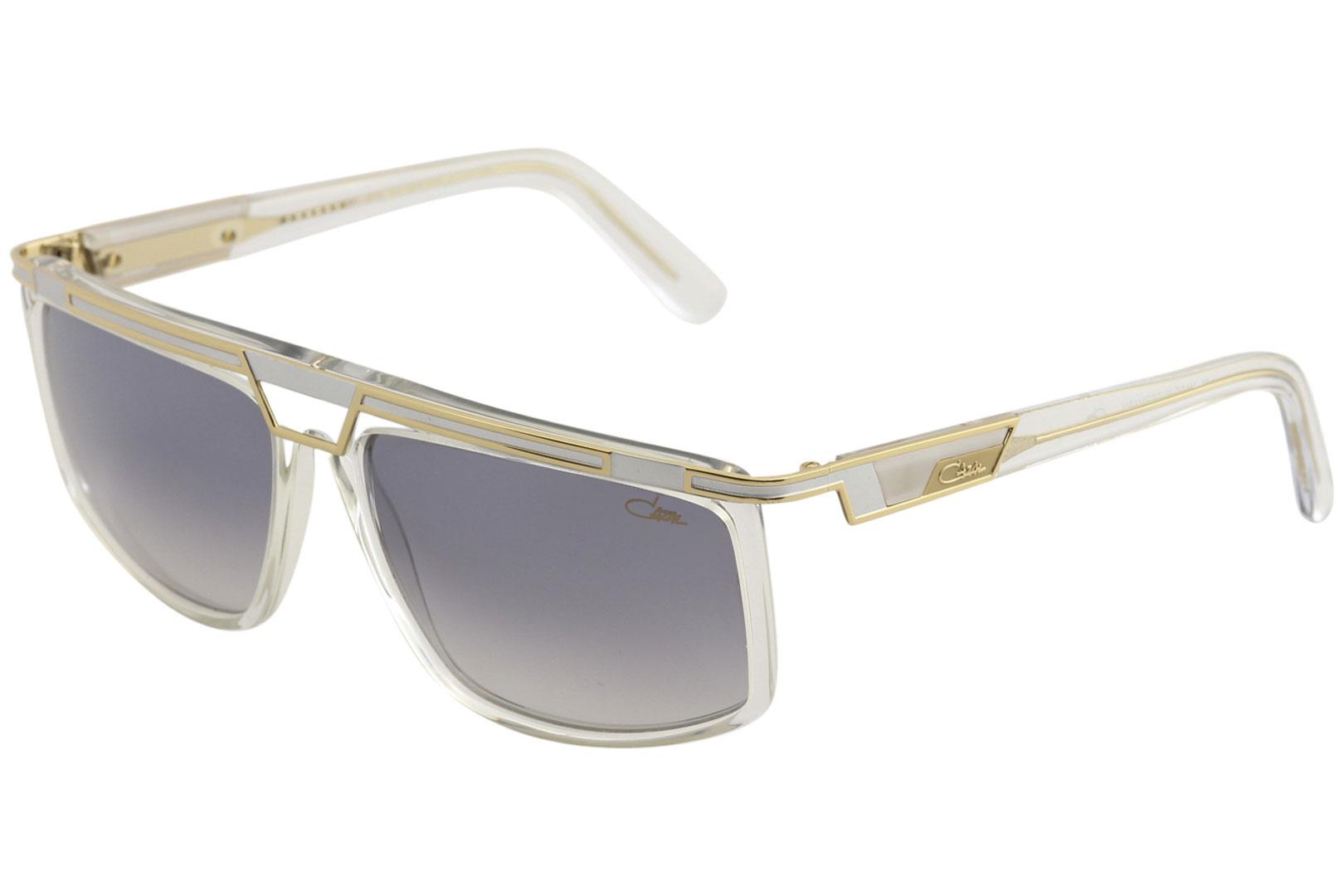 8fe16f384dc3 Cazal Legends Men s 8036 003 Crystal Gold Fashion Square Sunglasses ...