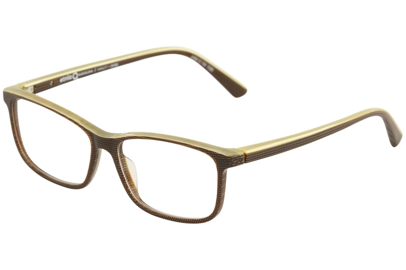 cc8792b267 Details about Etnia Barcelona Women s Eyeglasses Amalfi BRBE Brown Beige  Optical Frame 54mm