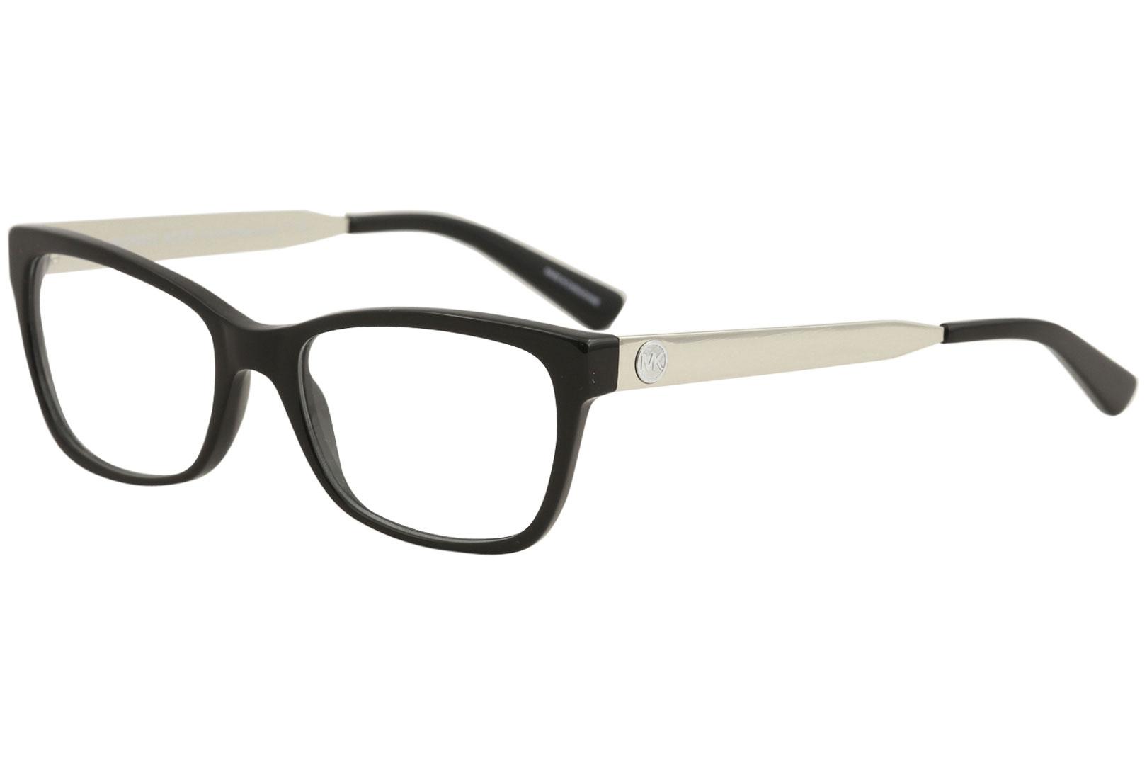 0d7917633047 Michael Kors Eyeglasses Marseilles MK4050 MK/4050 3163 Black Optical ...