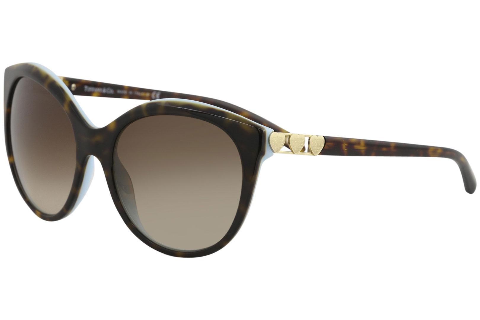 98ccd56ee9 Tiffany Co. Mujer & TF4133 TF/4133 8216/3B HABANA/Azul Gafas de sol ...
