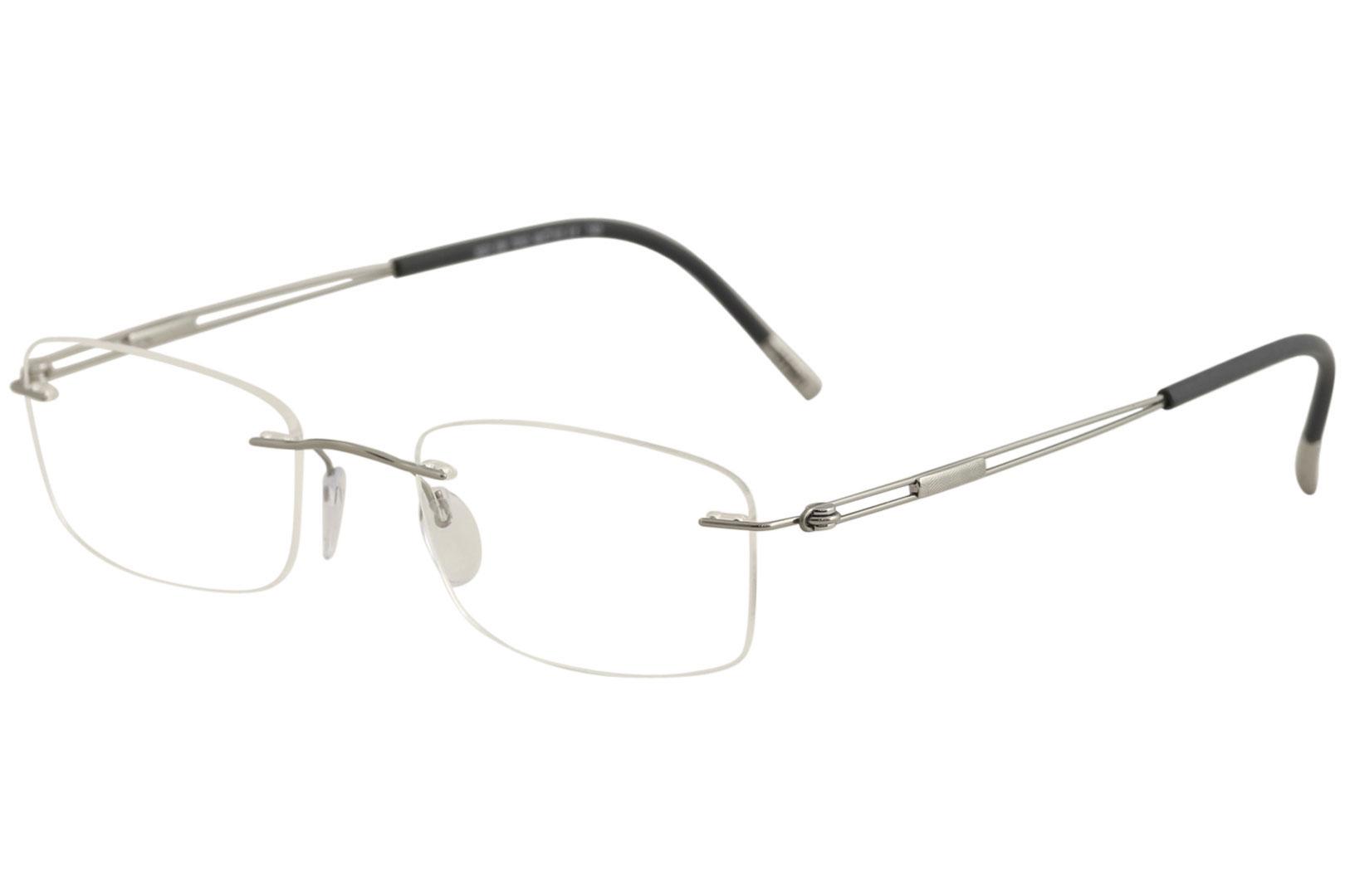 e99ec22023 Silhouette Eyeglasses TNG Titan Next Generation Chassis 5521 7010 ...