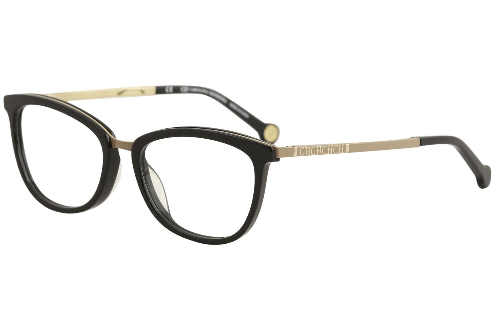 11329defca CH Carolina Herrera Eyeglasses VHE094K VHE/094K 0F47 Black Optical ...