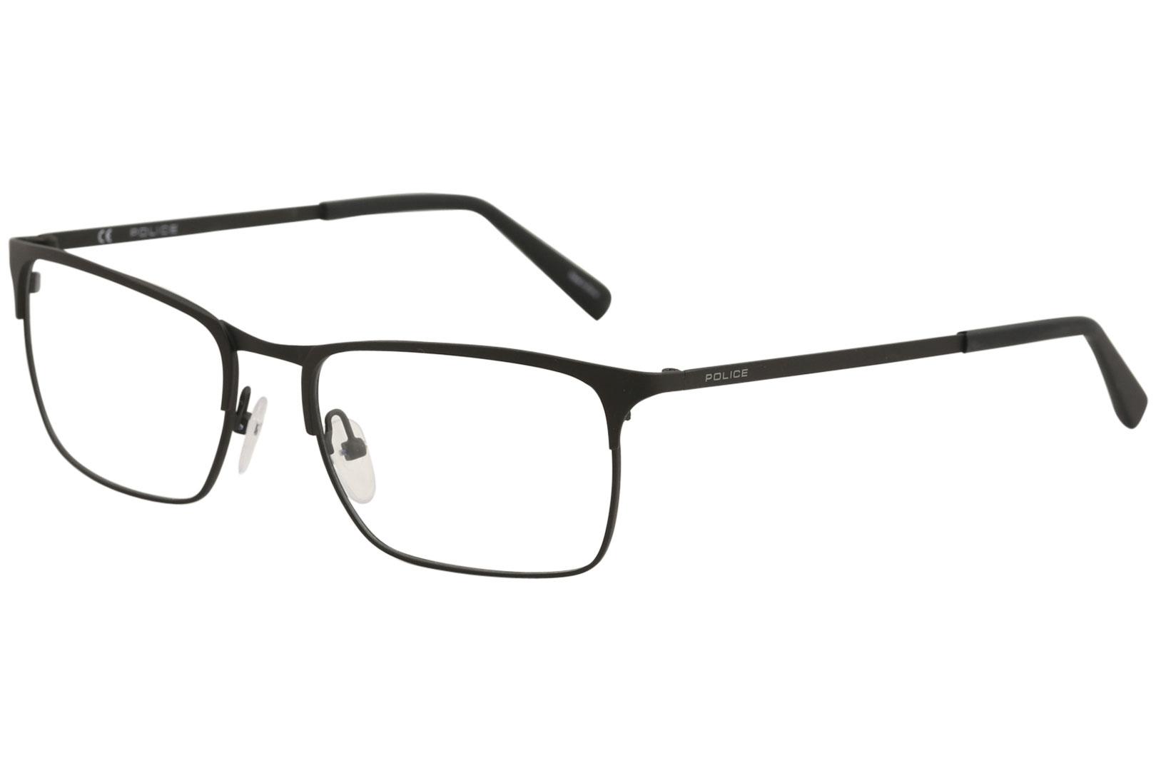 56cd3e48aece Police Eyeglasses Invisible 2 VPL139 VPL/139 0531 Matte Black ...