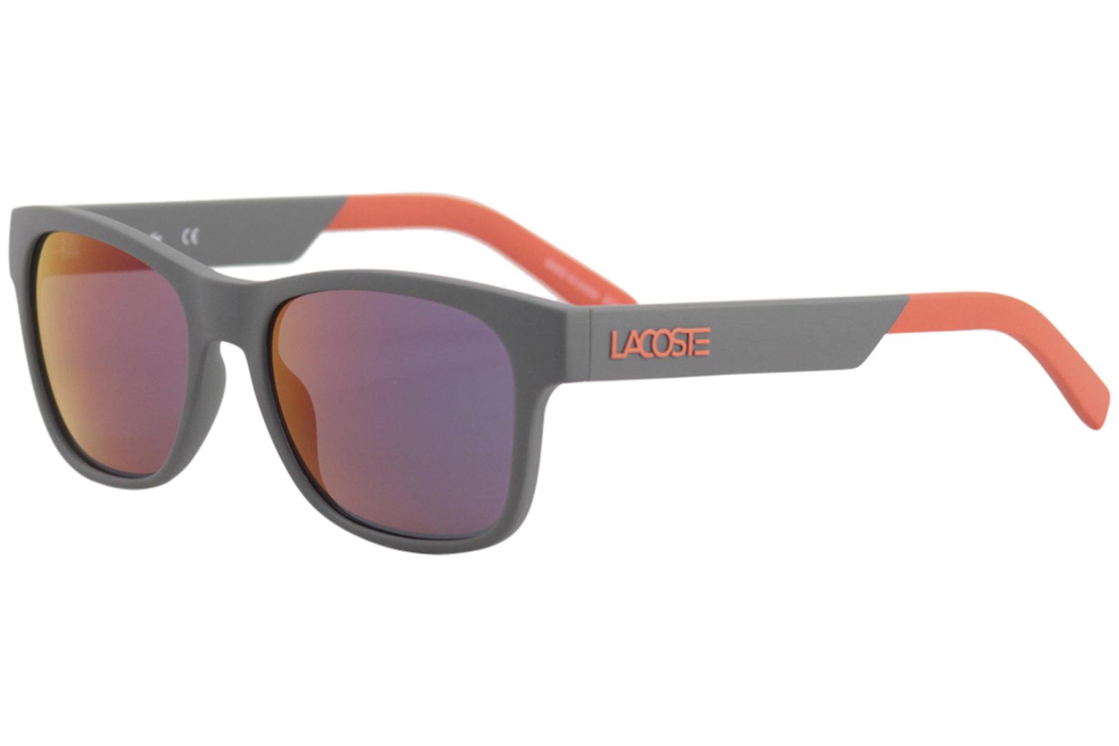 b9642db8d343 Lacoste Men s L829S L 829 S 024 Matte Dark Grey Fashion Square ...