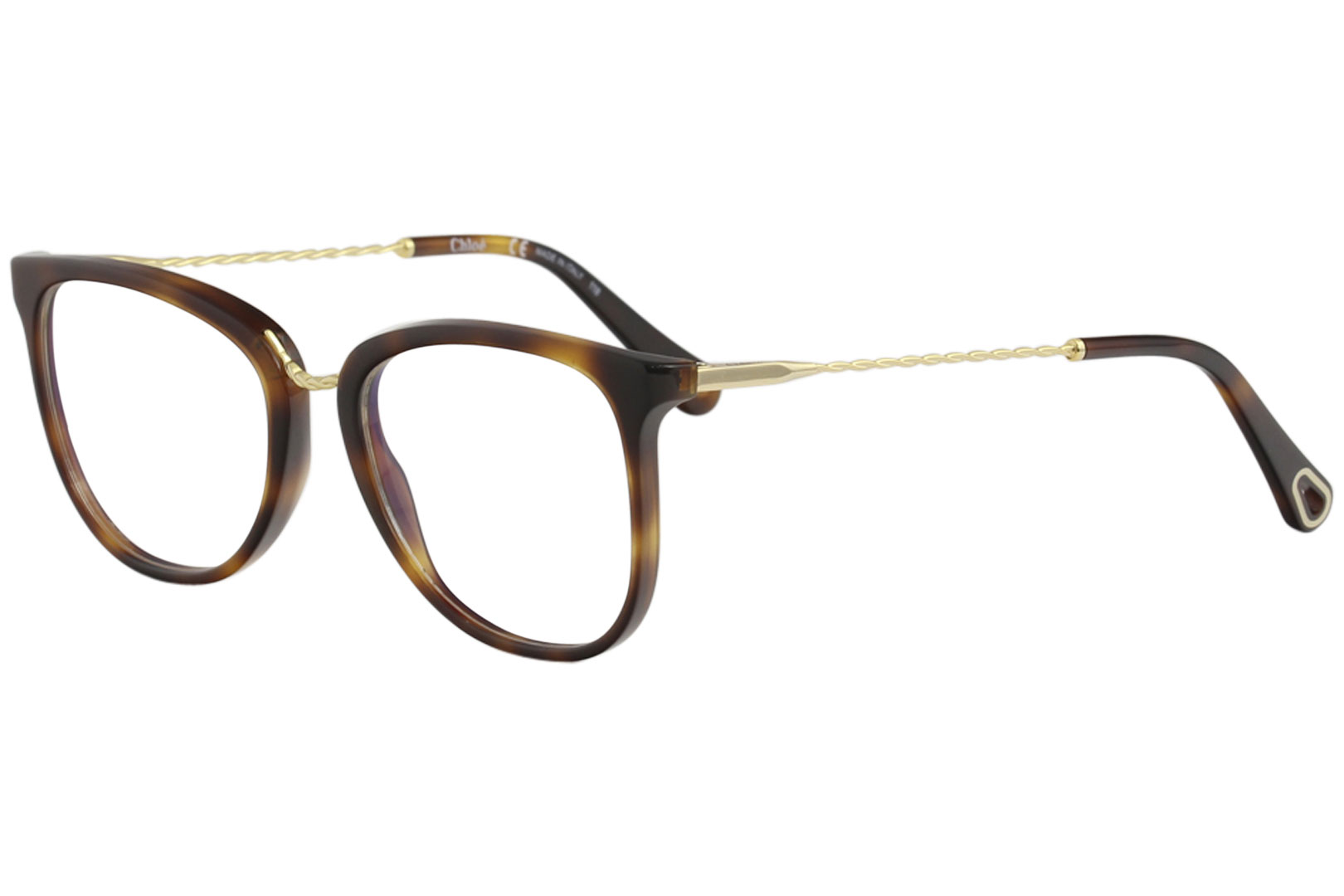 e278a666cc4 Chloe Women s Eyeglasses CE2731 CE 2731 218 Havana Full Rim Optical ...