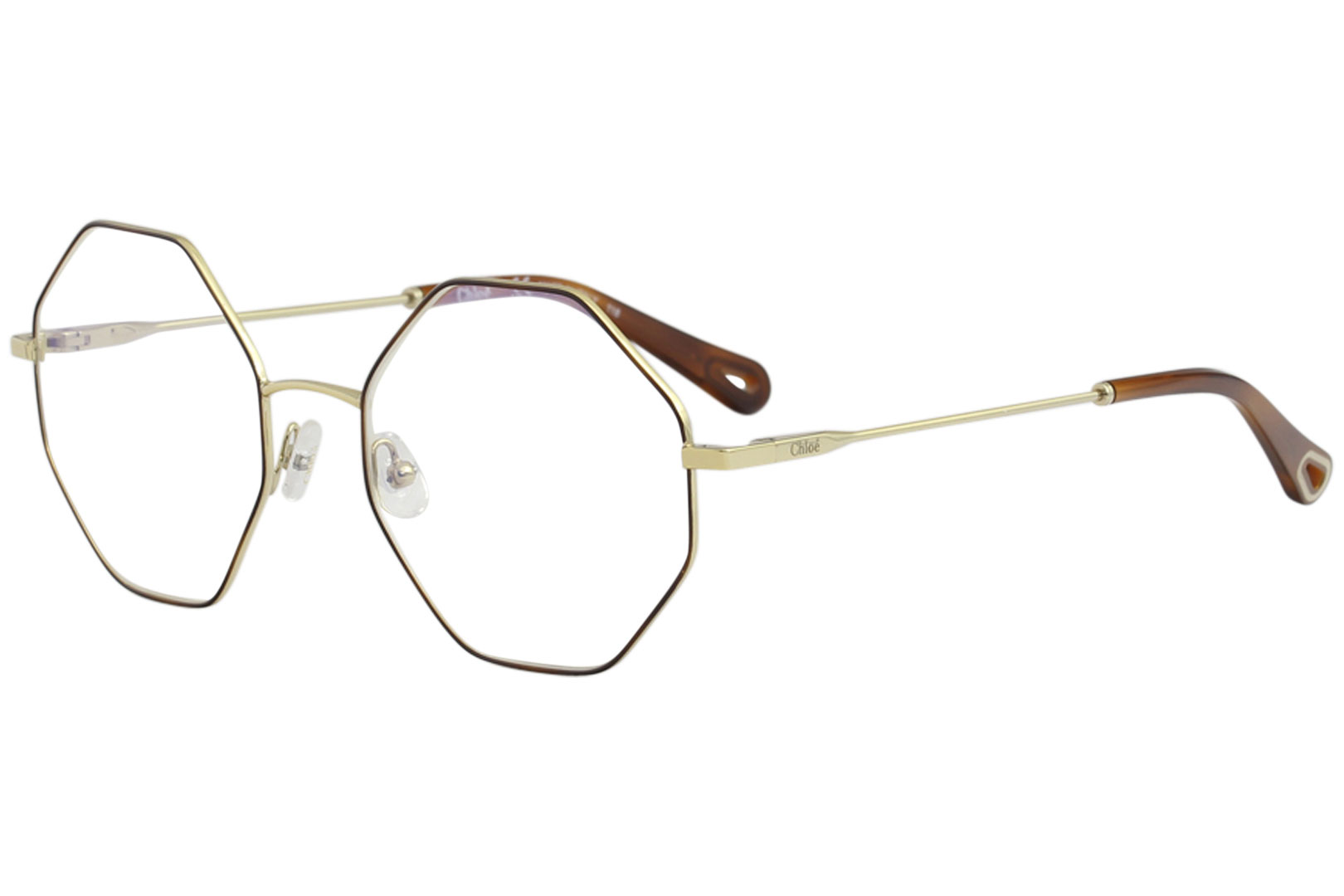95087455697 Chloe Women s Eyeglasses CE2134 CE 2134 757 Gold Havana Optical ...