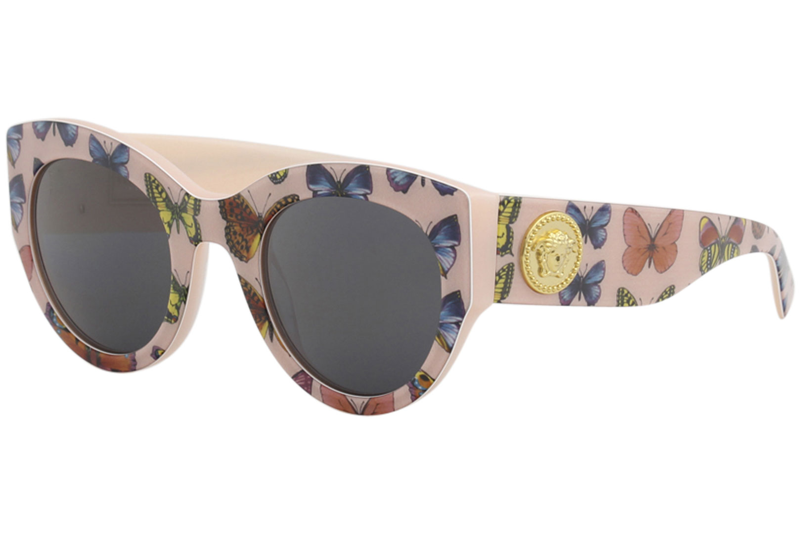 62ff00eecc0 Details about Versace Women s VE4353 VE 4353 5286 87 Butterfly Pink Square  Sunglasses 51mm