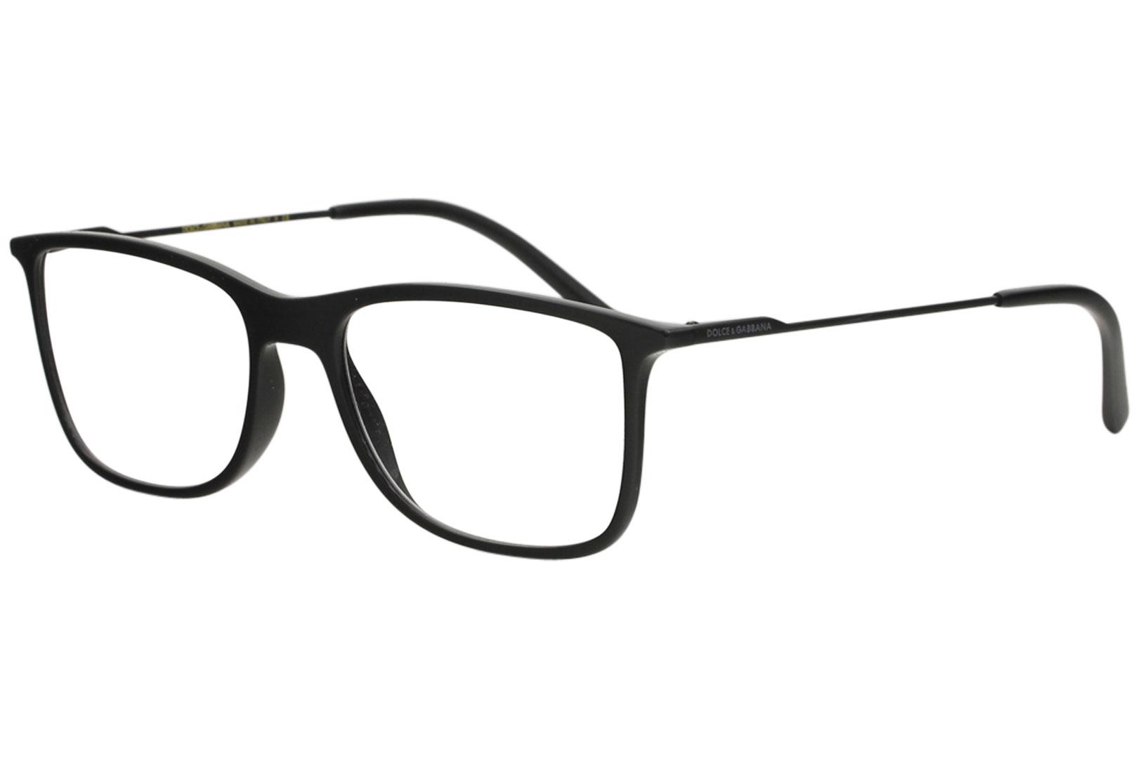 669c5071dec Details about Dolce   Gabbana Men s Eyeglasses D G DG5024 DG 5024 501 Black  Optical Frame 55mm