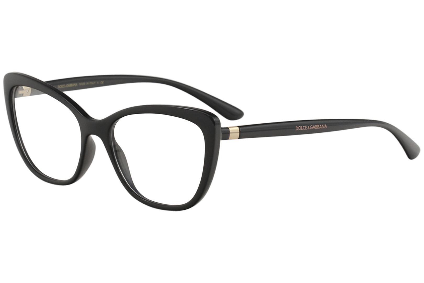 c5c0f8aecba Details about Dolce   Gabbana Eyeglasses D G DG5039 DG 5039 501 Black  Optical Frame 54mm