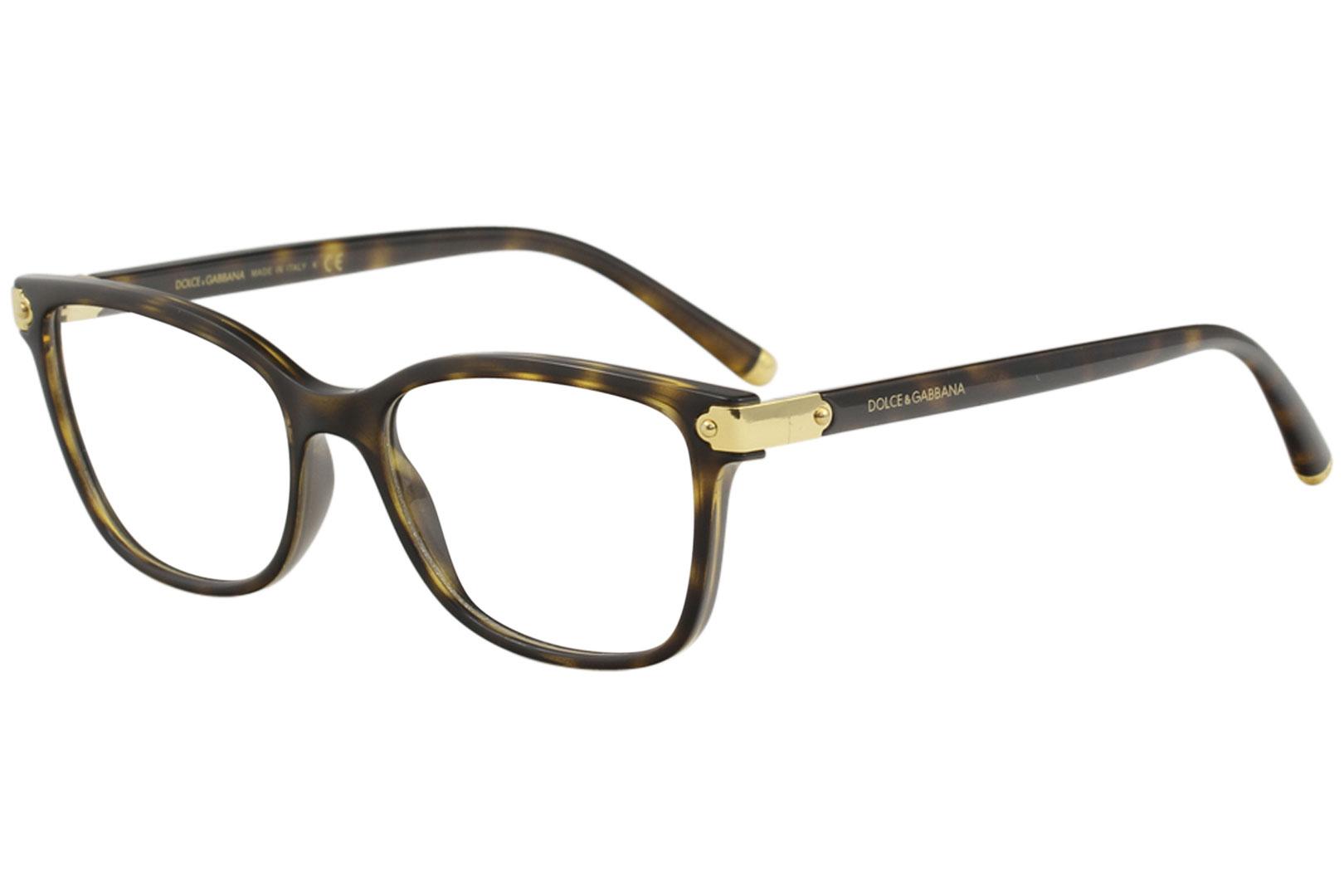 0472be887dbc Dolce & Gabbana Eyeglasses D&G DG5036 DG/5036 502 Havana/Gold ...