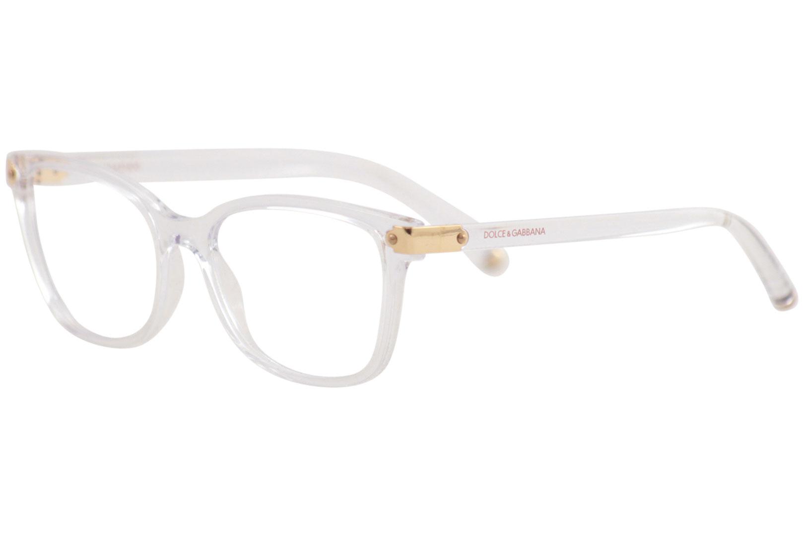 873654f3e442 Dolce & Gabbana Eyeglasses D&G DG5036 DG/5036 3133 Crystal Optical ...
