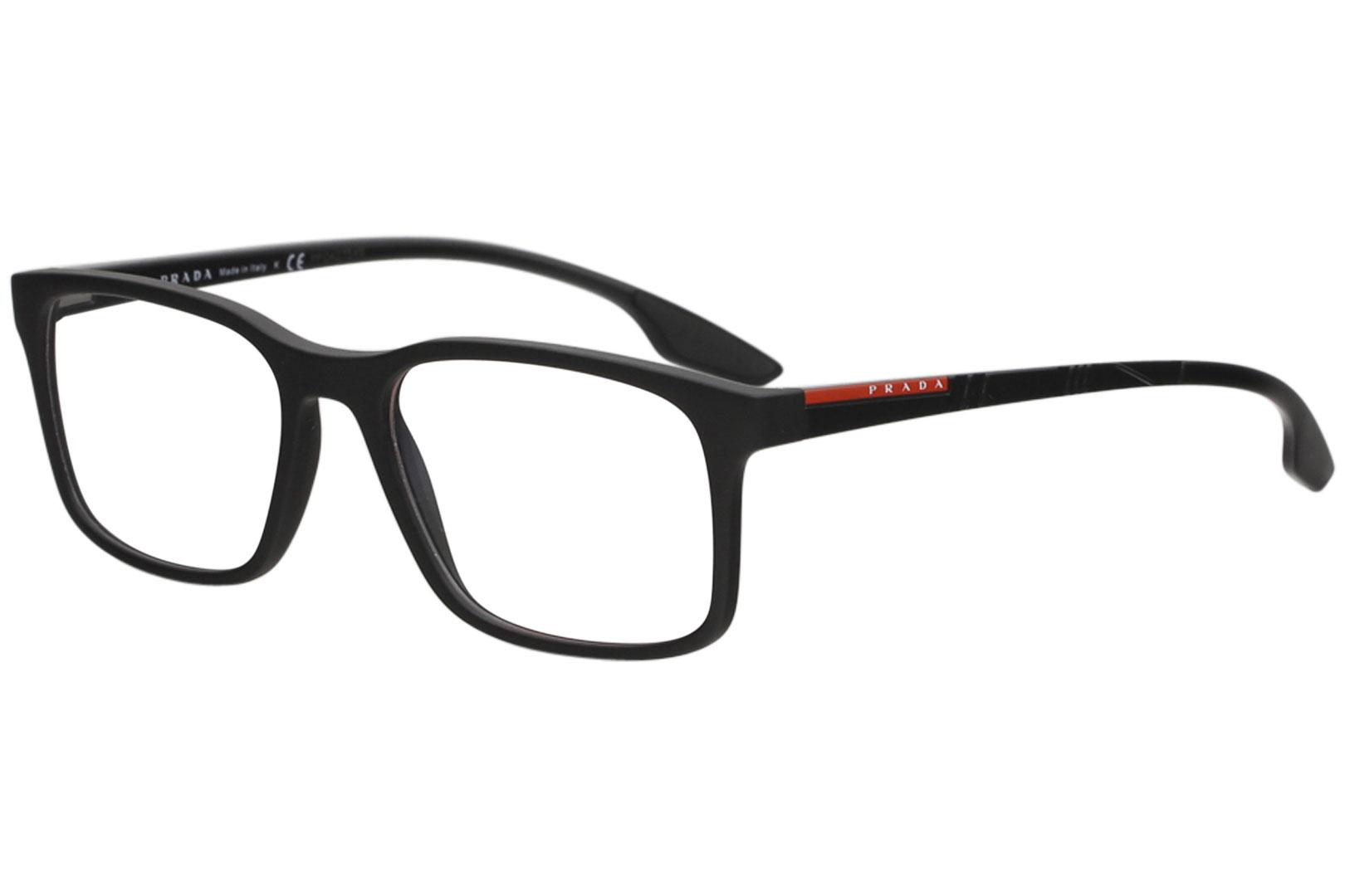 a43dff240b Prada Linea Rossa Eyeglasses VPS01L VPS 01L 1BO 1O1 Mt Black Optical ...