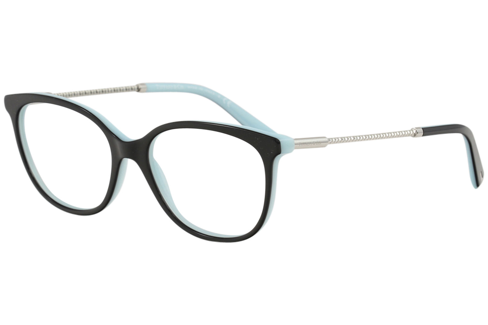 27b4b71acf Tiffany   Co. Eyeglasses TF2168 TF 2168 8055 Black Full Rim Optical ...