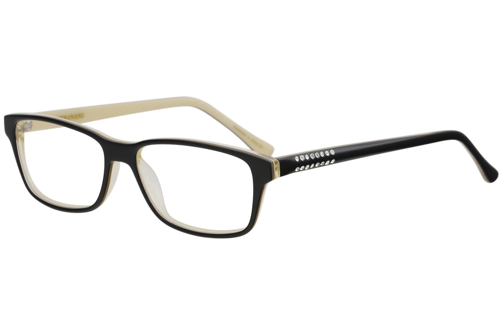 VERA WANG Eyeglasses SHANDAE Black 51MM