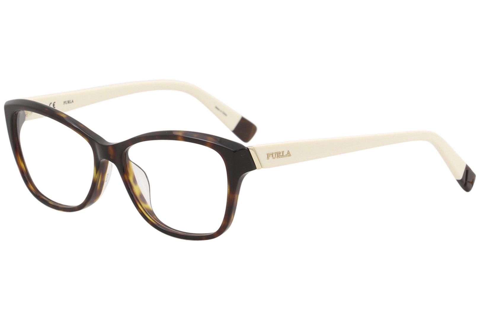 1e881ed5cac Furla Womens Eyeglasses VU4908 VU 4908 0779 Tortoise Full Rim ...