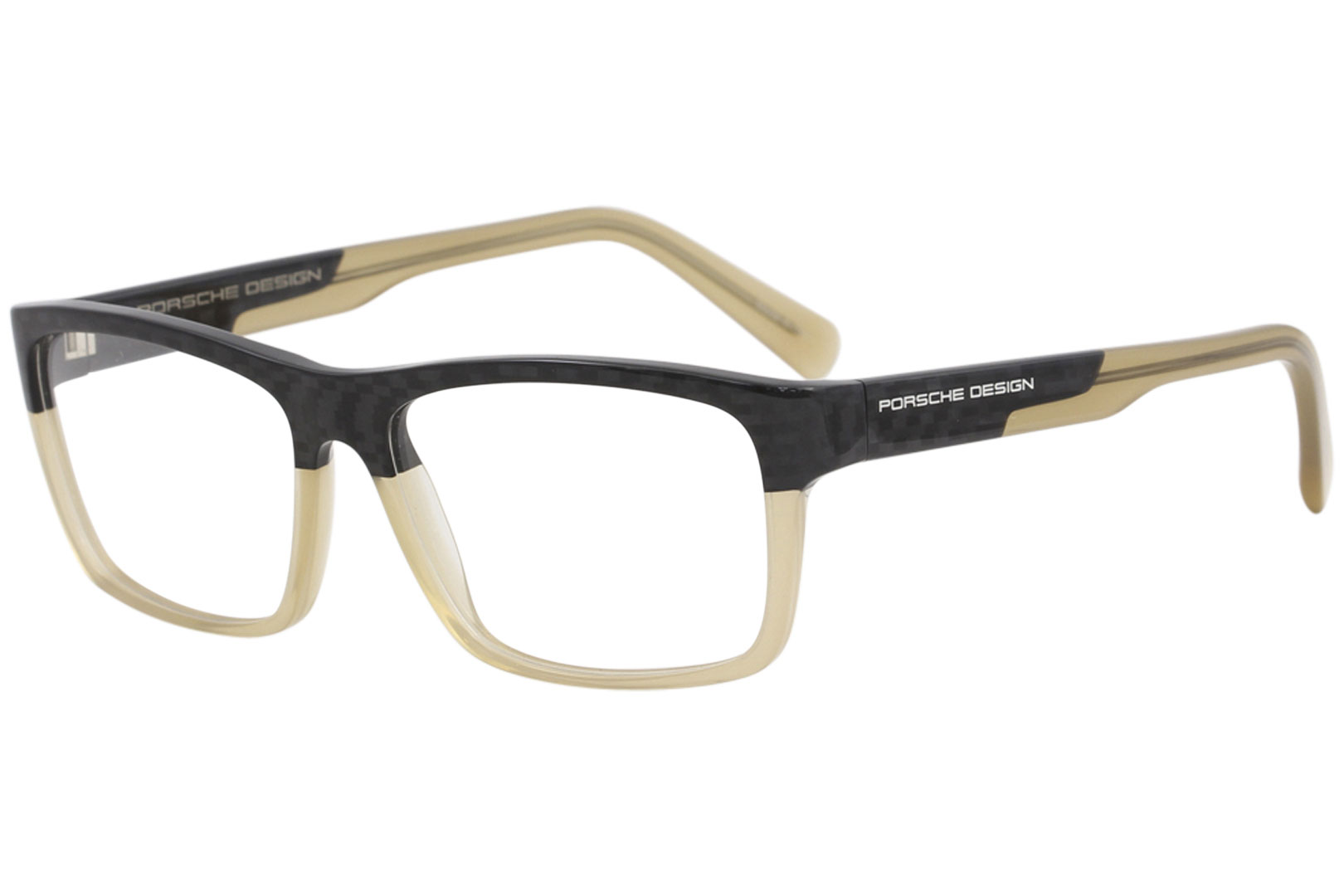 d0b7324fb1a1 Porsche Design Men s Eyeglasses P8190 P 8190 B Carbon Beige Optical ...