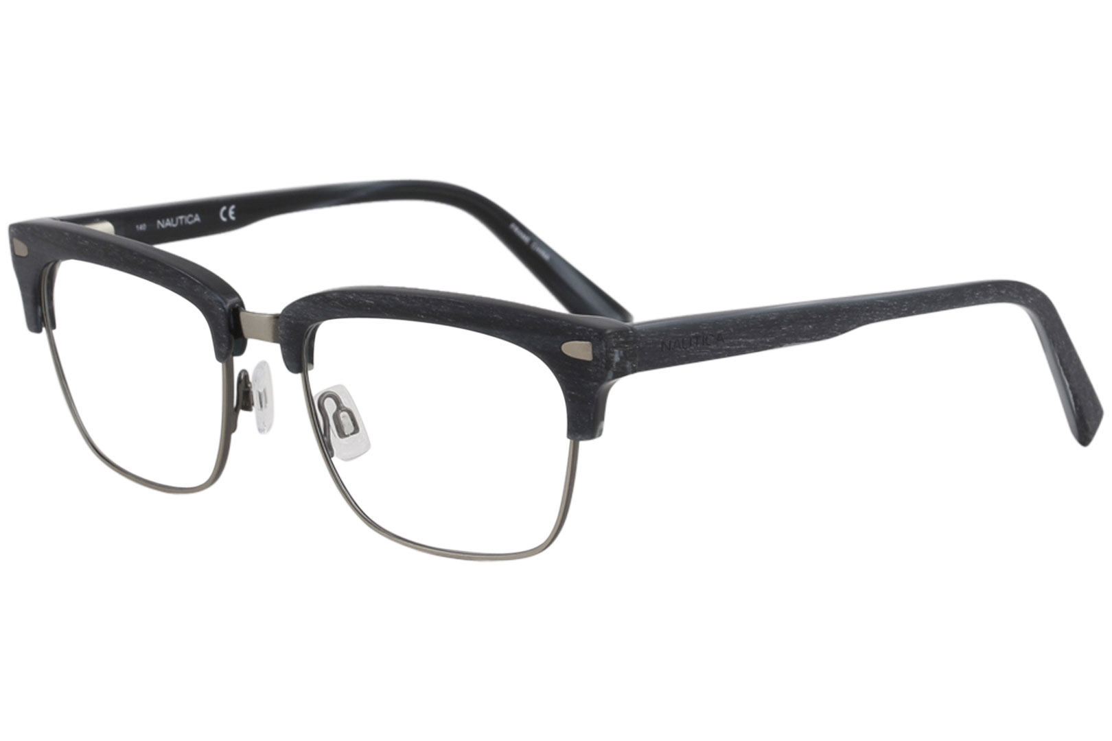 68285af68b Nautica Men s Eyeglasses N8129 N 8129 030 Gunmetal Full Rim Optical ...