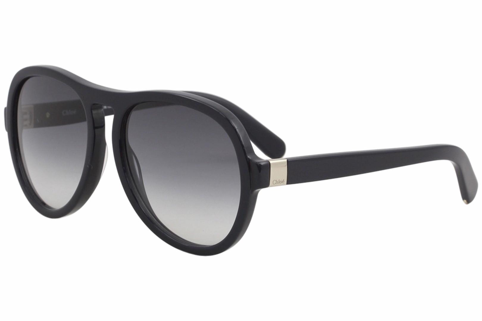 896958c2e5f Chloe Women s CE716S CE 716 S Blue 424 Fashion Pilot Sunglasses 59mm ...