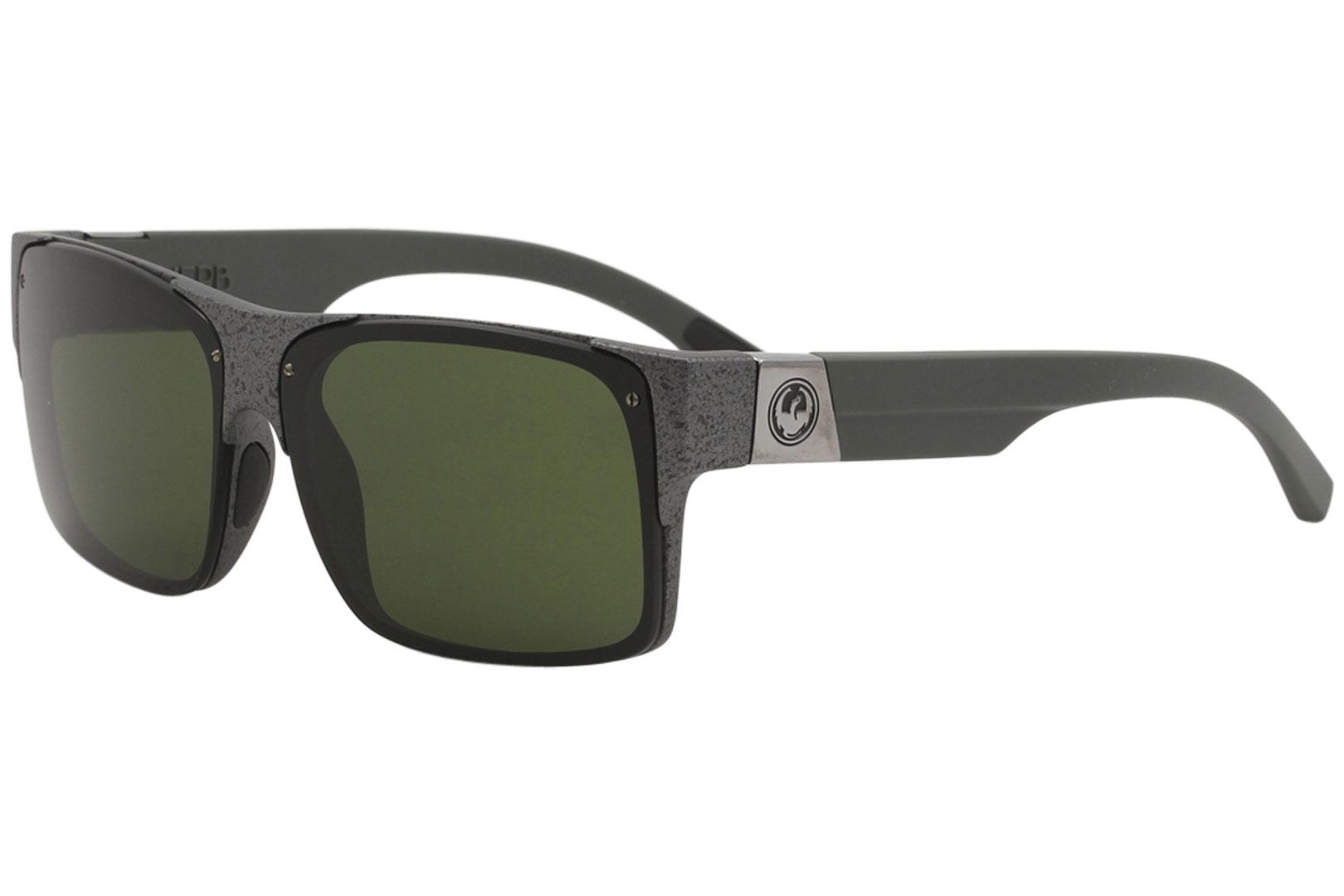 92face8db81d4 Dragon Reverb 081 Gunmetal Marble Sport Square Sunglasses 62mm