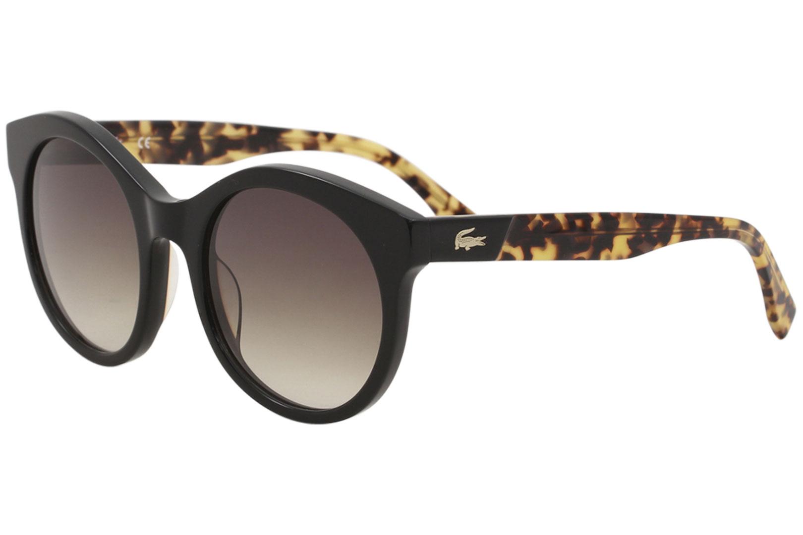 bcc56ece470 Details about Lacoste Men s L851S L 851 S 001 Black Tortoise Fashion Round  Sunglasses 53mm