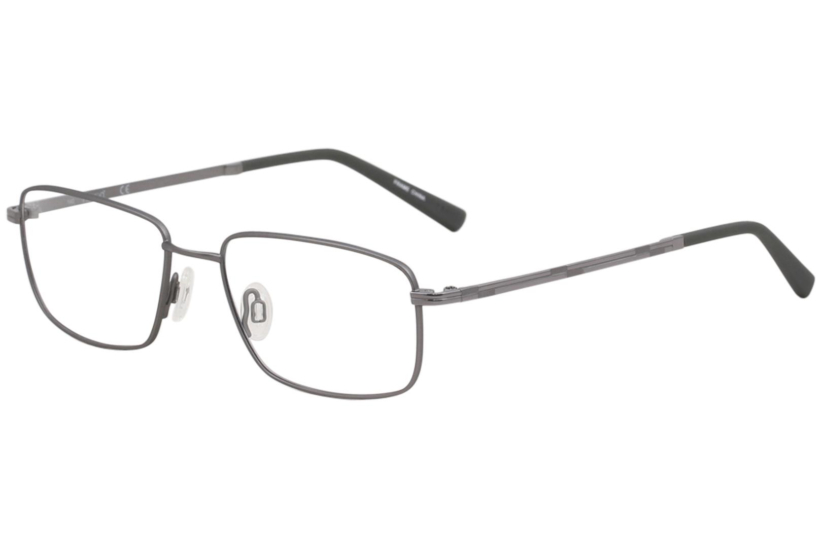 8655e170dea Flexon Men s Eyeglasses Nathaniel 600 035 Slate Full Rim Optical ...