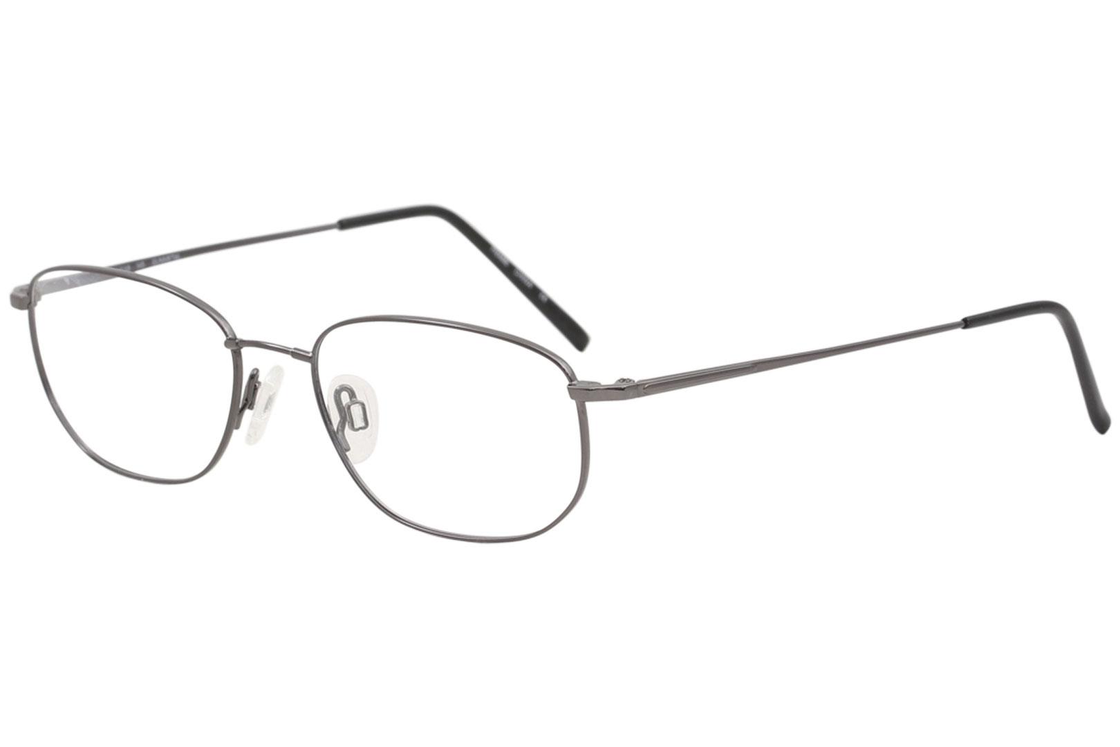 107b1e9c06f Flexon Men s Eyeglasses 600 033 Gunmetal Full Rim Optical Frame 54mm ...