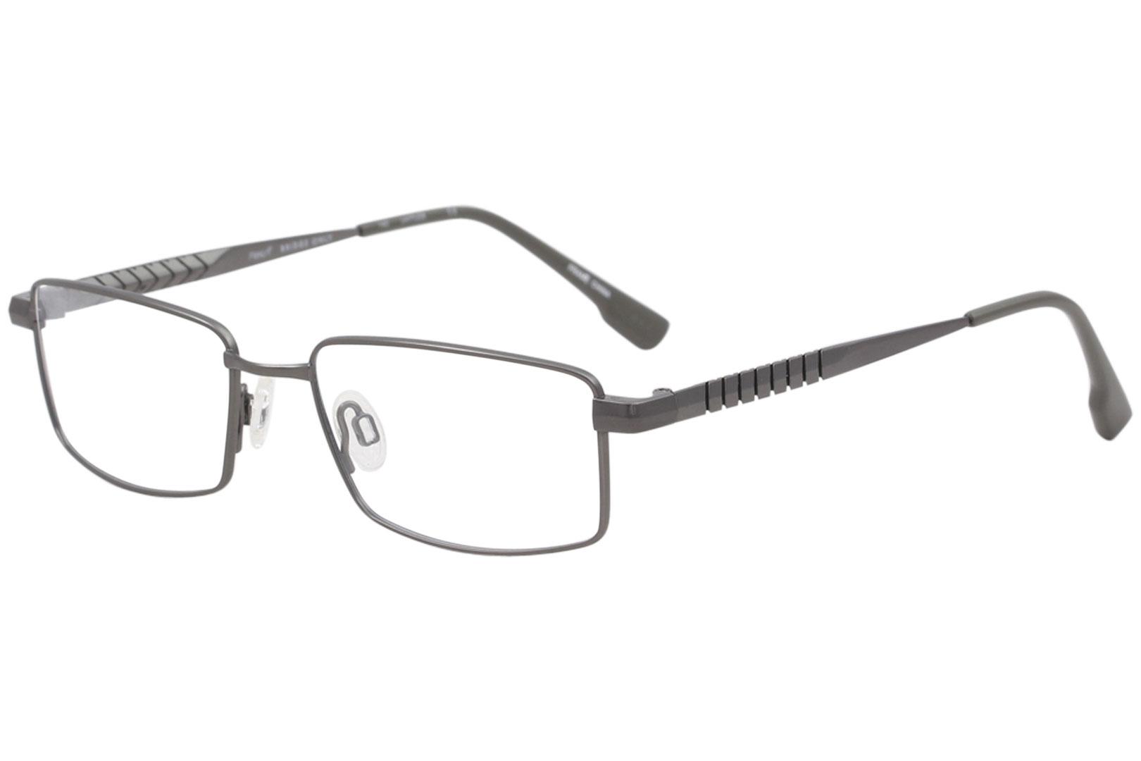 2efe7cf3b22 Flexon Men s Eyeglasses E1012 E 1012 033 Gunmetal Full Rim Optical ...