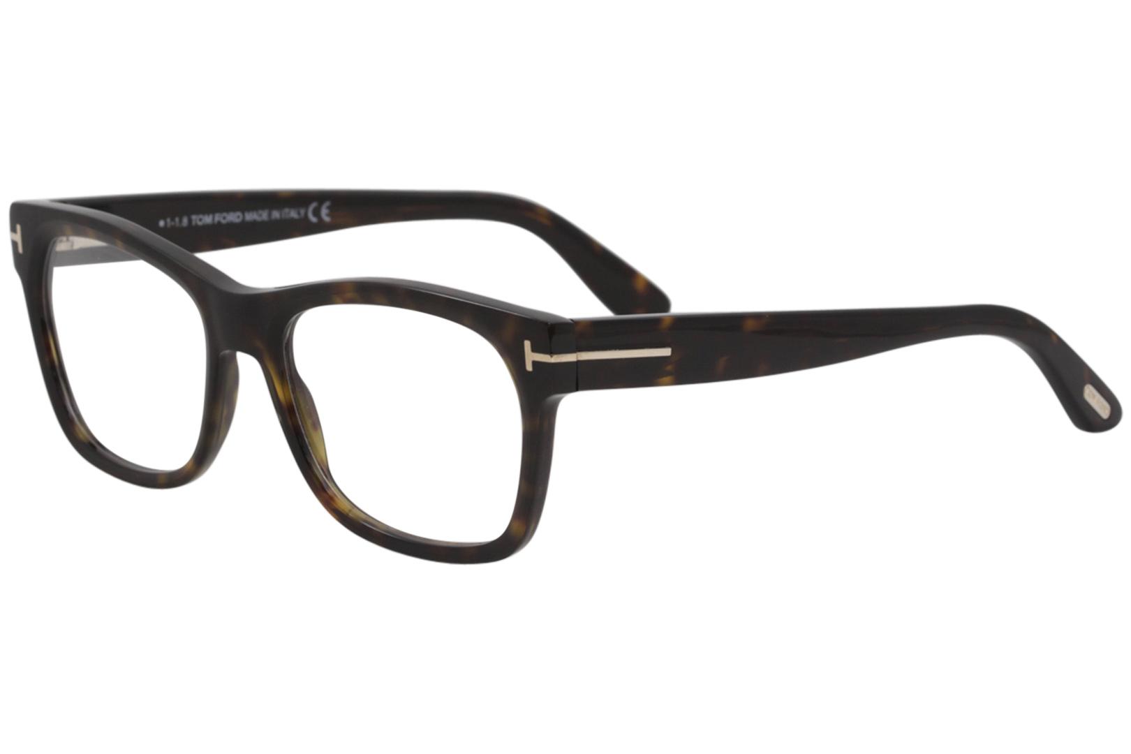 d9a0bf6137d Tom Ford Men s Eyeglasses TF5468 TF 5468 052 Dark Havana Optical ...
