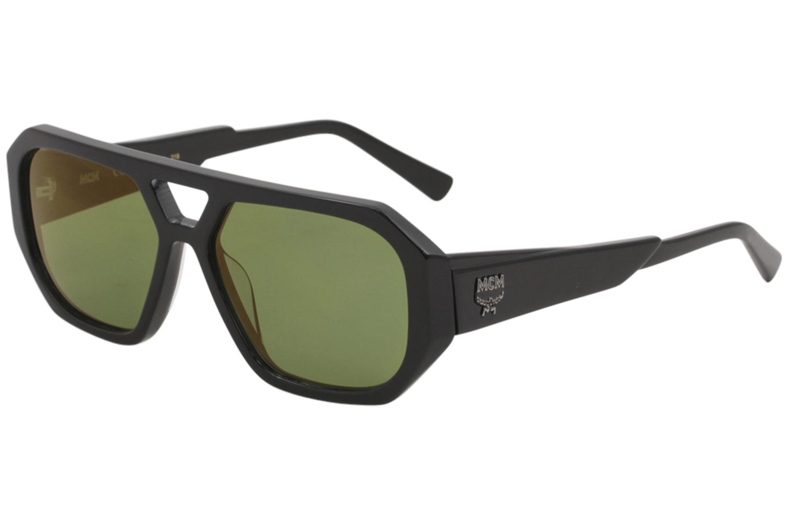 099ab33a98 MCM Women s Sunglasses MCM667S MCM 677 S 001 Black Fashion Pilot ...