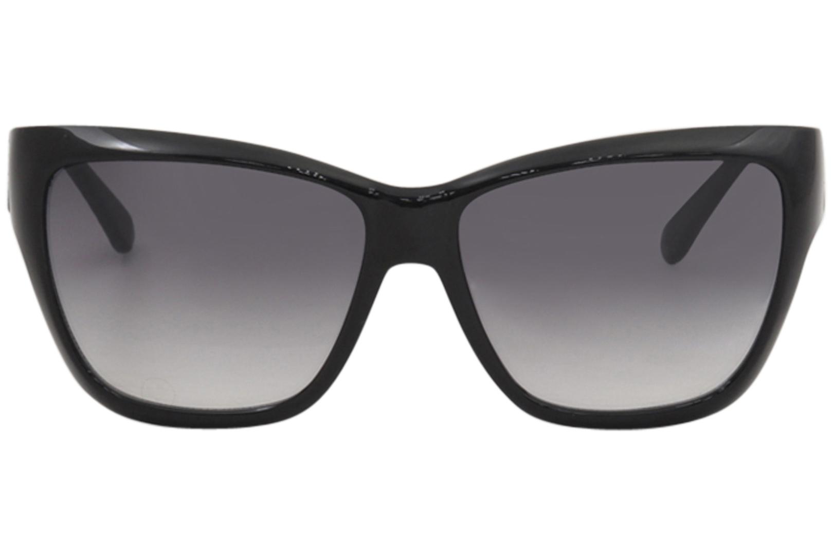a6efc1d409e Guess Women s GU7374 GU 7374 BLK-35 Black Fashion Square Sunglasses 57mm 2  2 of 5 ...