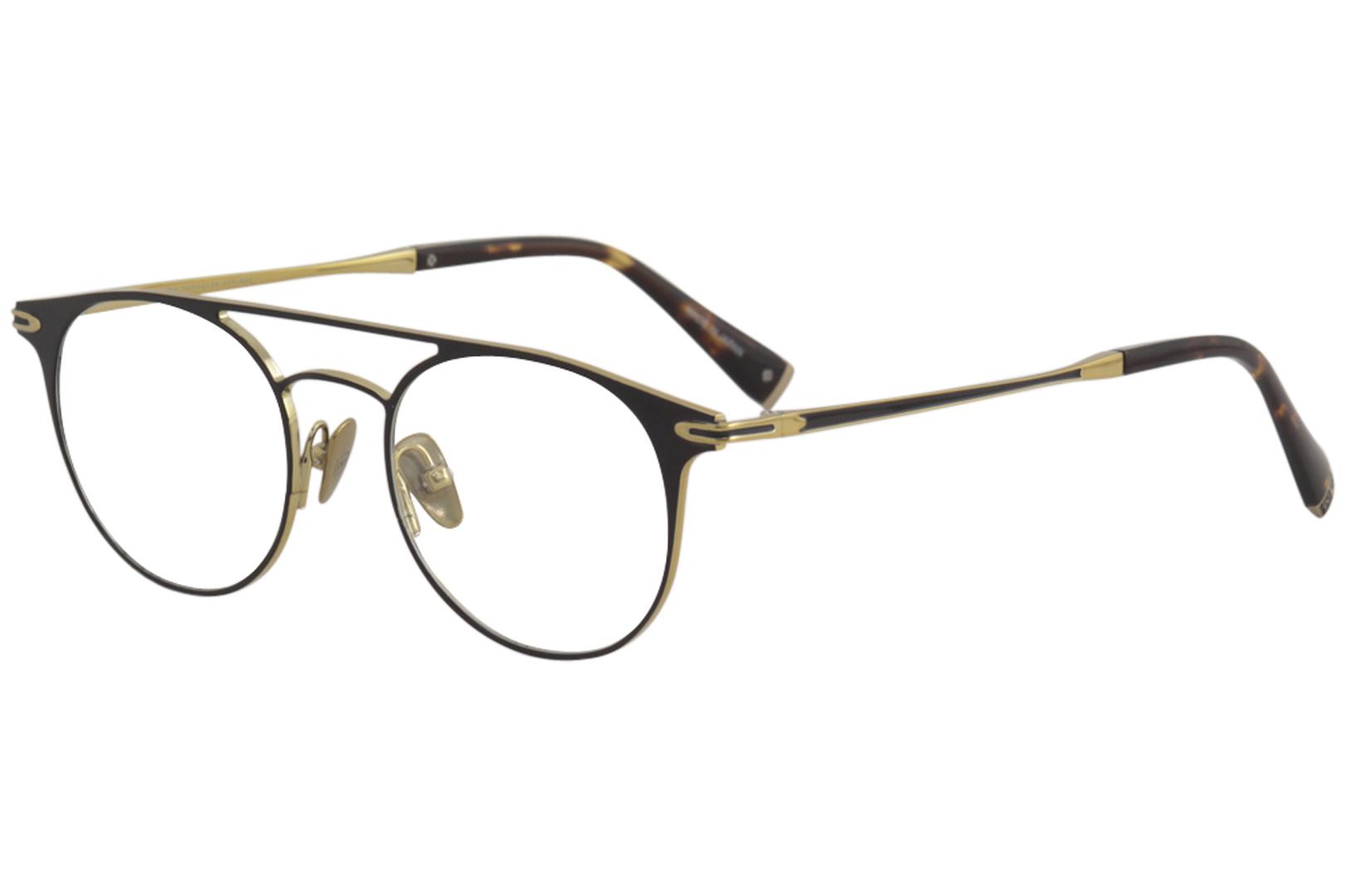 a2c21a78a8 John Varvatos Eyeglasses V169 V 169 Matte Black Gold Full Rim ...