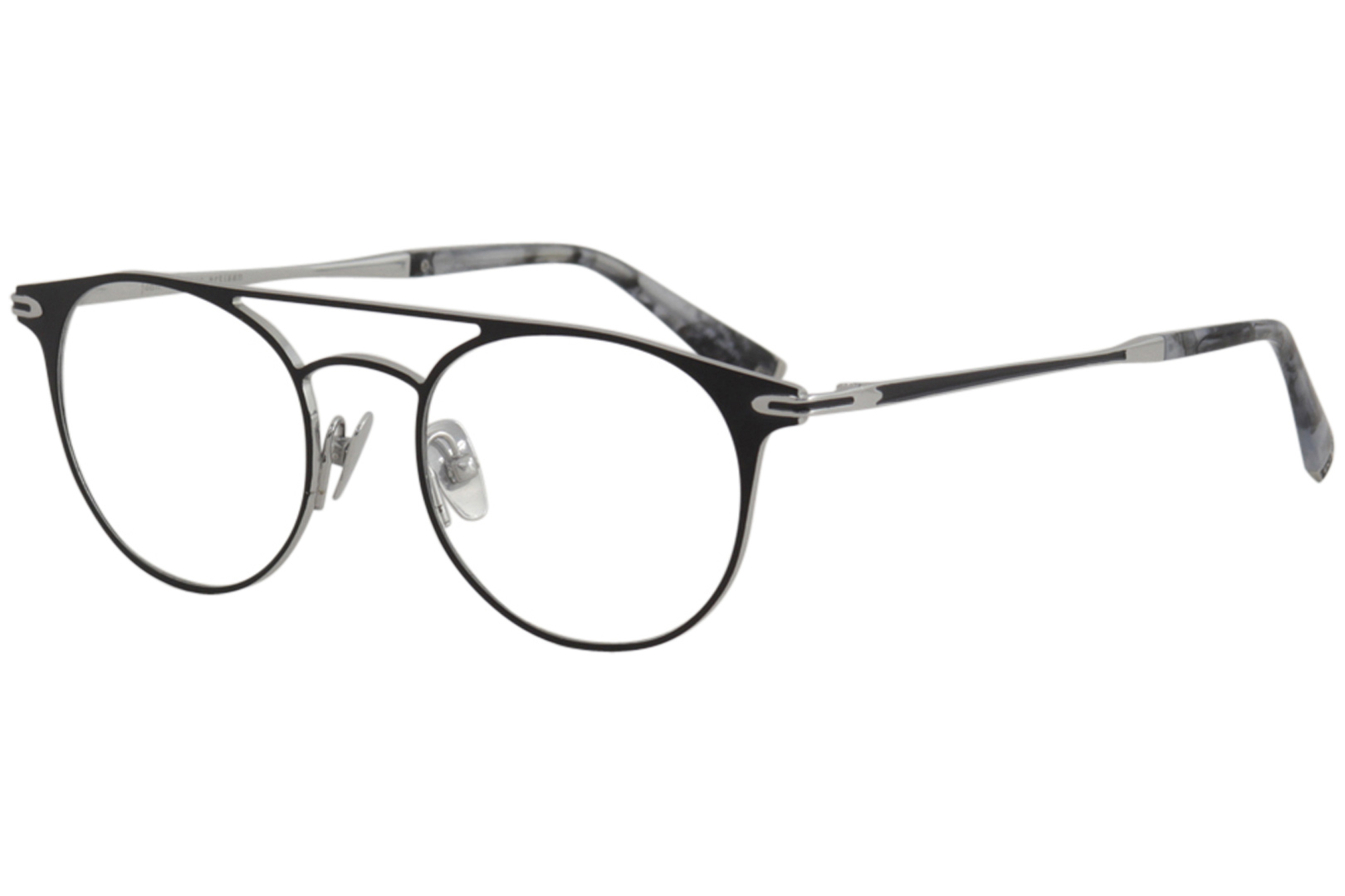 344f9b1eb6 John Varvatos Men s Eyeglasses V169 V 169 Matte Black Silver Optical ...
