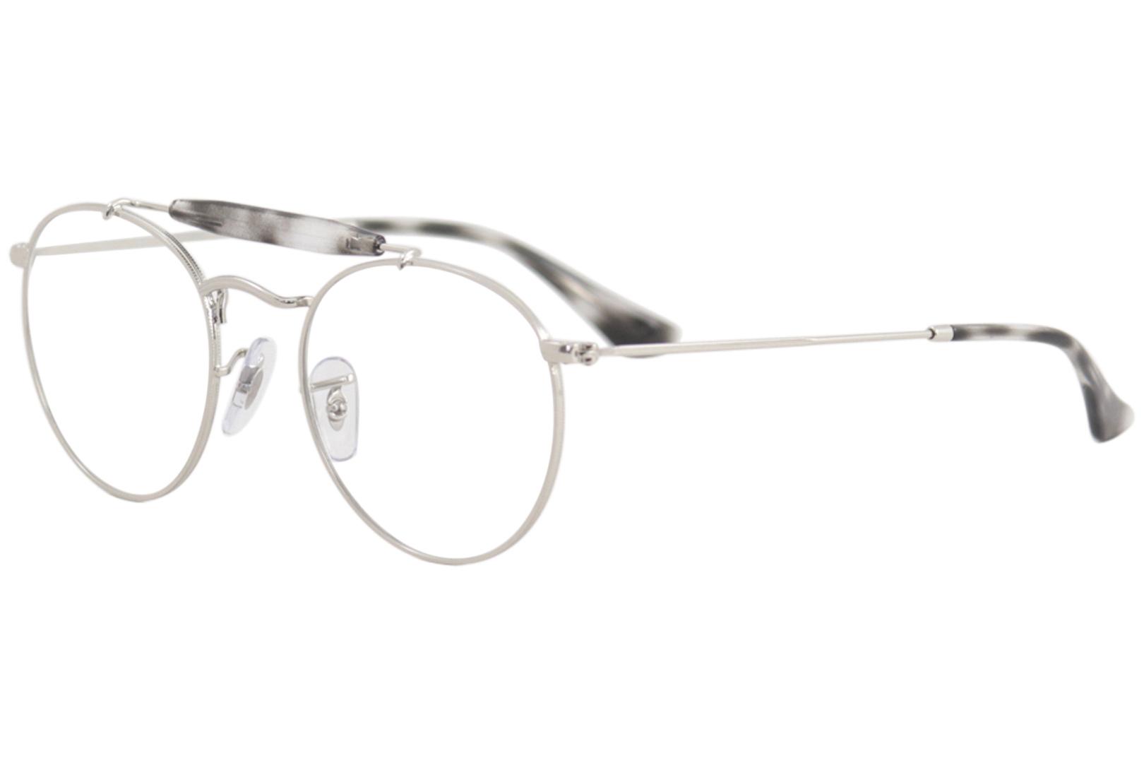 a93b8e65437 Ray Ban Men s Eyeglasses RB3747V RB 3747 V 2501 Silver RayBan ...