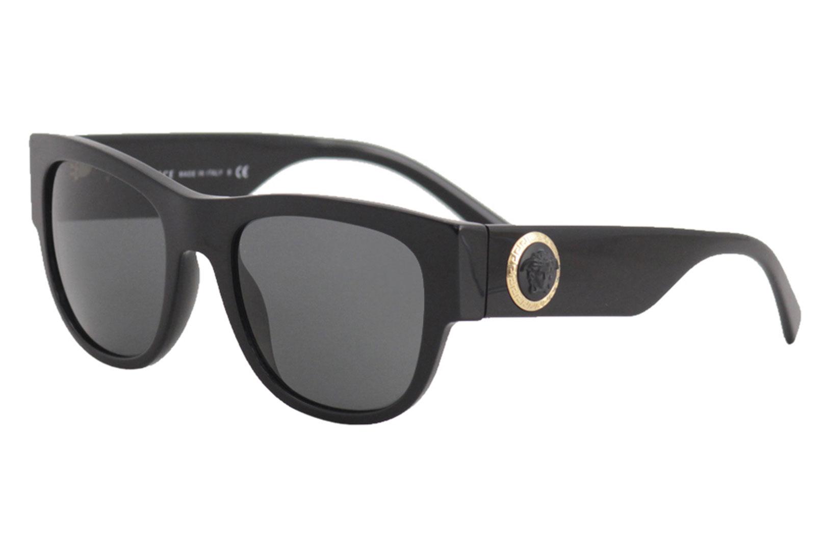 8eff49744d Versace Men s VE4359 VE 4359 GB1 87 Black Fashion Square Sunglasses ...
