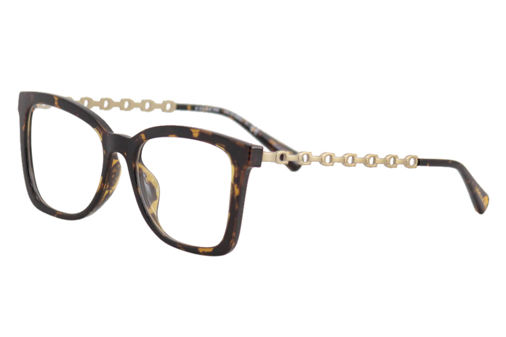 e21a138a0f Coach Women s Eyeglasses HC6128U HC 6128 U 5120 Dark Tortoise ...