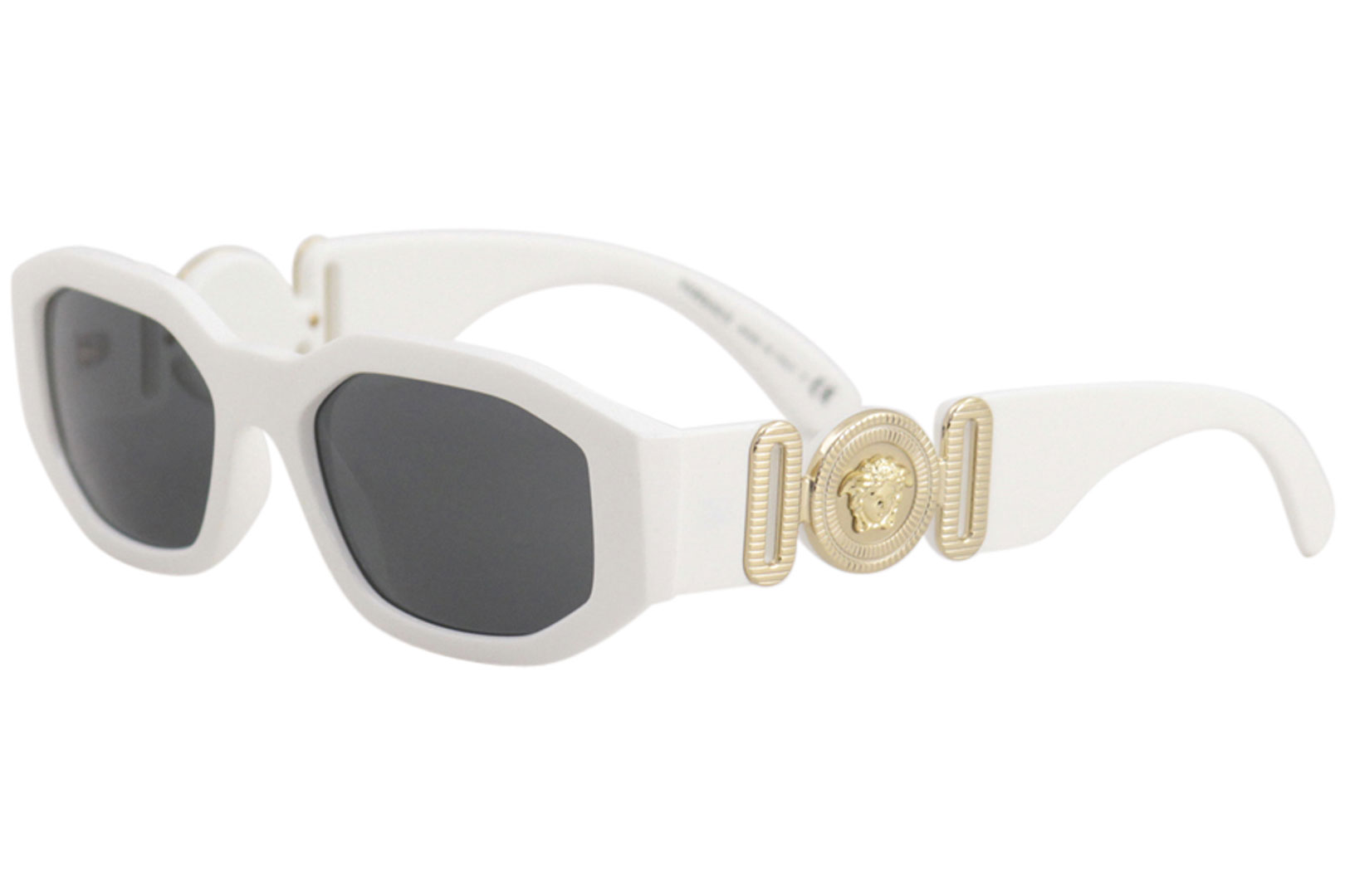 00abc468bc45 Versace Women's VE4361 VE/4361 401/87 White/Gold Rectangle ...